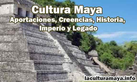 la cultura maya caracteristicas