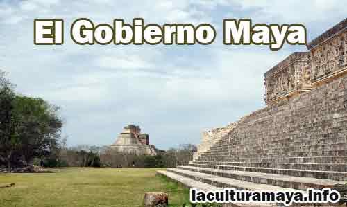 gobierno de los maya
