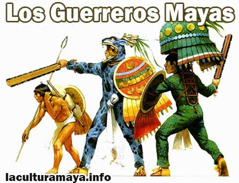 los guerreros de los mayas nombres