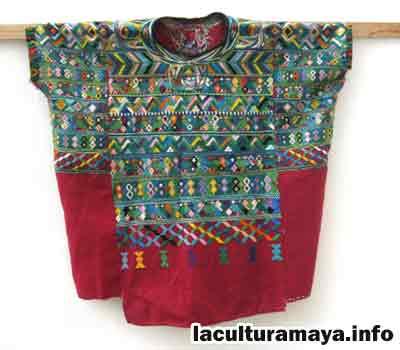 la vestimenta tipica de los mayas