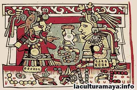 Los principales guerreros mayas