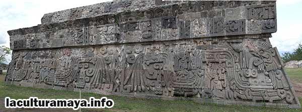 las caracteristicas de los guerreros mayas